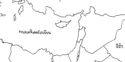 """กิจกรรม : """"แผนที่ประเทศอิสราเอล"""" (ค้นหาแผนที่)"""