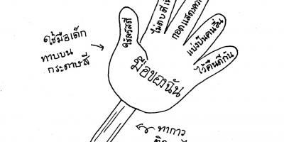 กิจกรรม : มือของฉัน (งานประดิษฐ์)