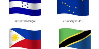 กิจกรรม : ธงนานาชาติ